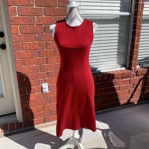 GUC Red BCBGMAXAZRIA Bodycon Dress Size 2